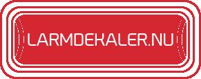 Larmdekaler.nu - Försäljning av larmdekaler och larmskyltar